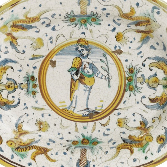 Oval Tray - 17th Century