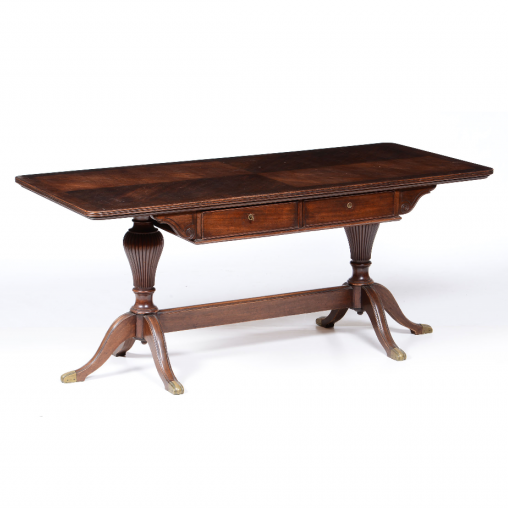 Rectangular mahogany table