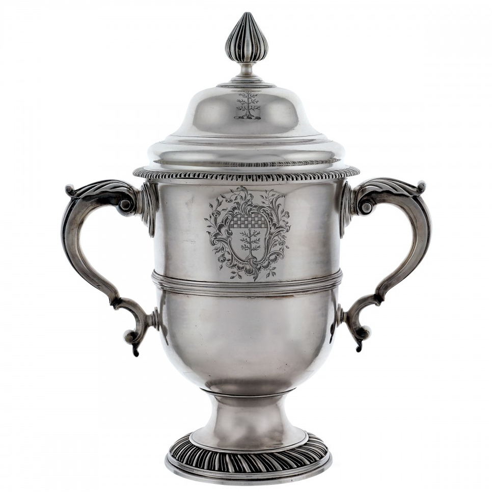 Two Handled Silver Cup (1754)