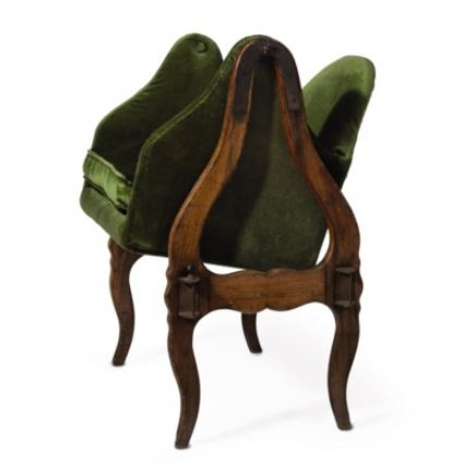 David Rockefeller's Louis XV Beech-Wood Chair - 1800's